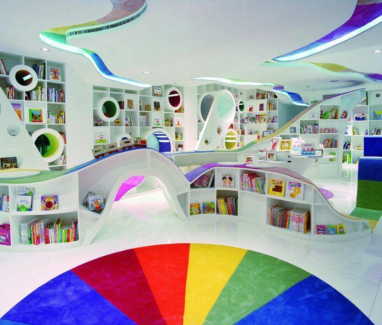 Kid's Republic Bookstore. Яркий мир детской книги в Пекине