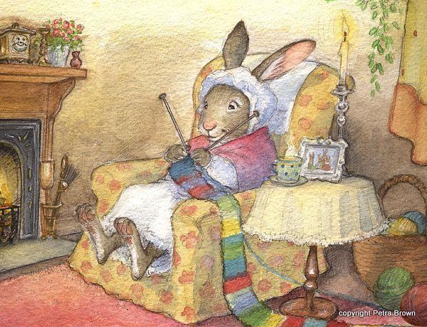 ілюстрації дитячих книжок Петра Браун