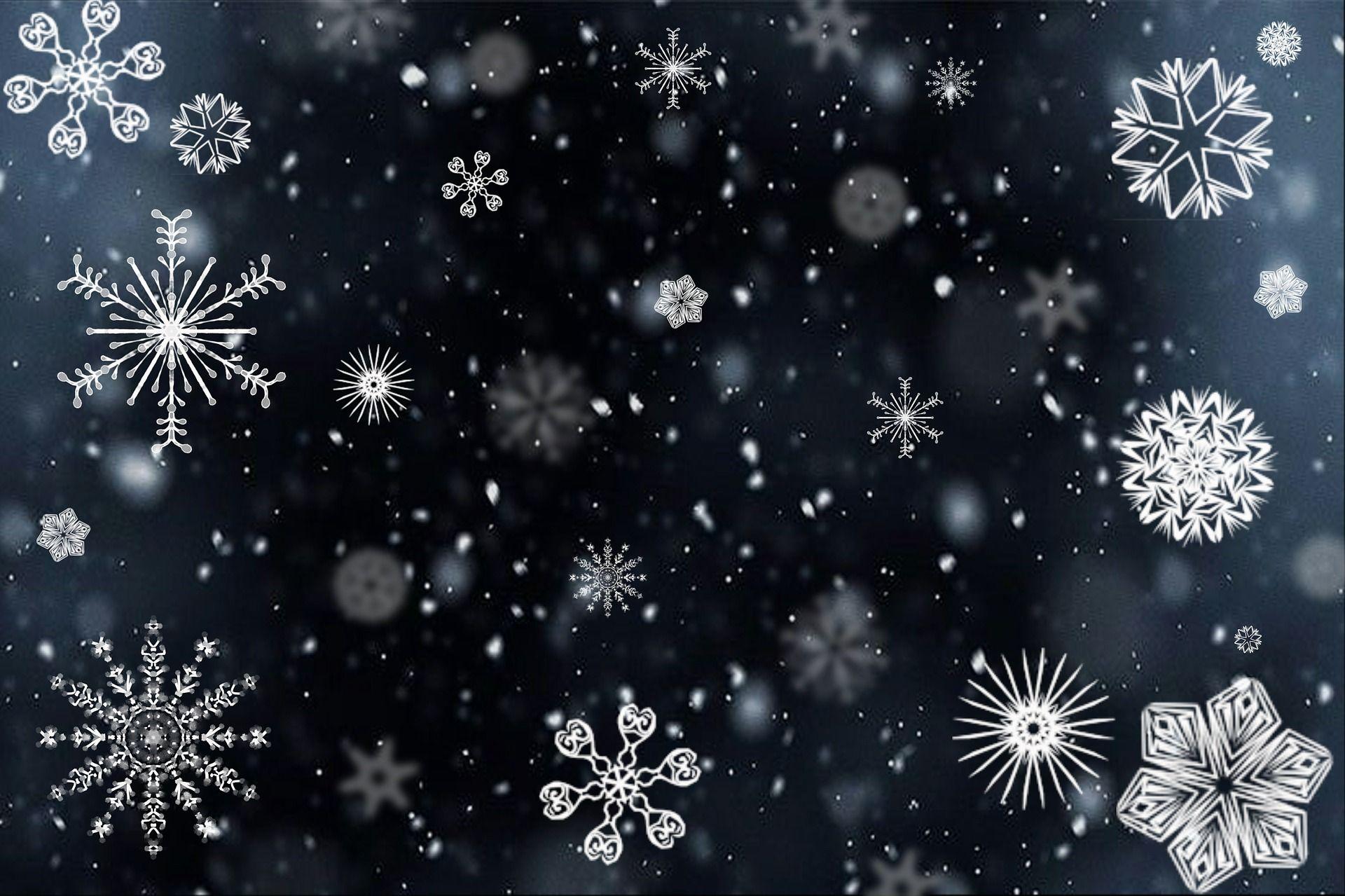 сніжинки віршики про зиму