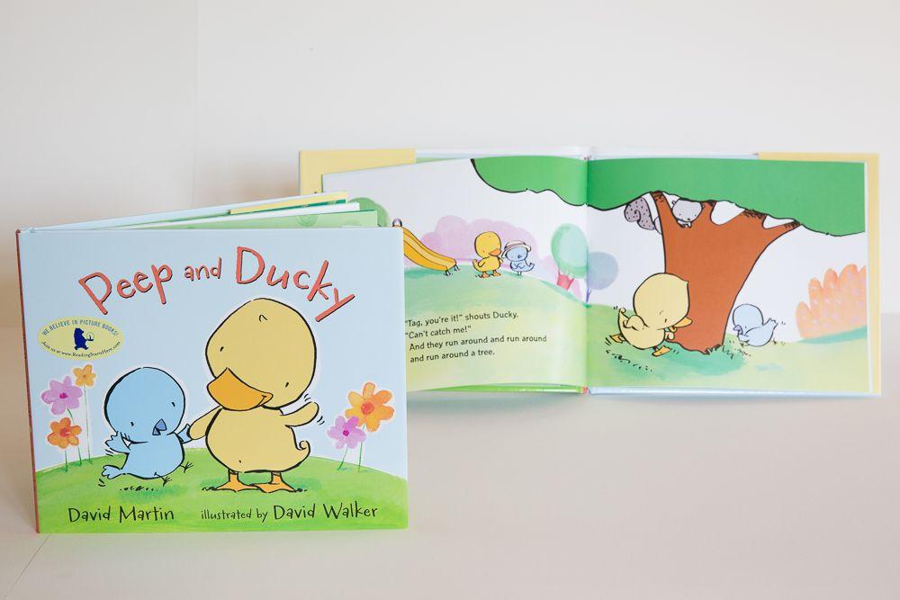 книги для детей иллюстрация Девид Уокер
