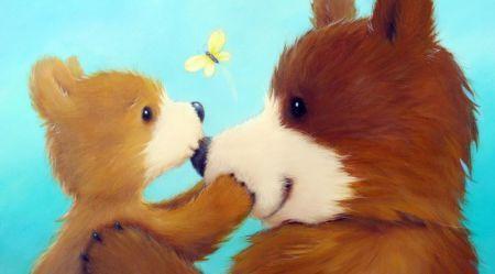 Море милоты: уютные медвежата от иллюстратора Элисон Эджсон (Alison Edgson)