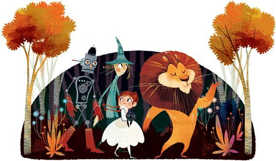 10 Book Covers for The Wizard of Oz by Frank Baum