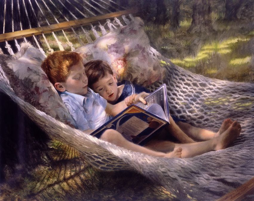 BookArt: 30 Stunning Classic Paintings of Reading People