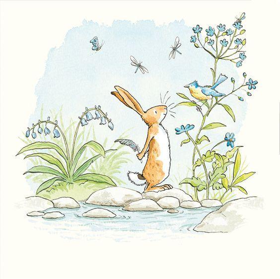 Мир умилительной любви: иллюстрации Аниты Джерам (Anita Jeram).