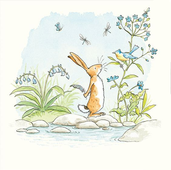 The World of Cute Love: Sweet Illustrations by Anita Jeram.