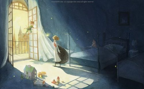 Airy-Fairy Illustrations for Children's Books by Kim Minji