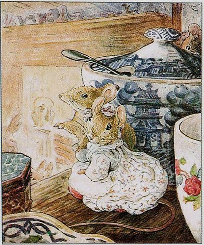illustration art children book beatrix potter