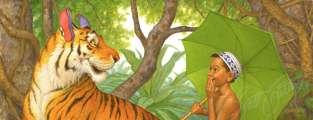 scott gustafson illustration bookmarin